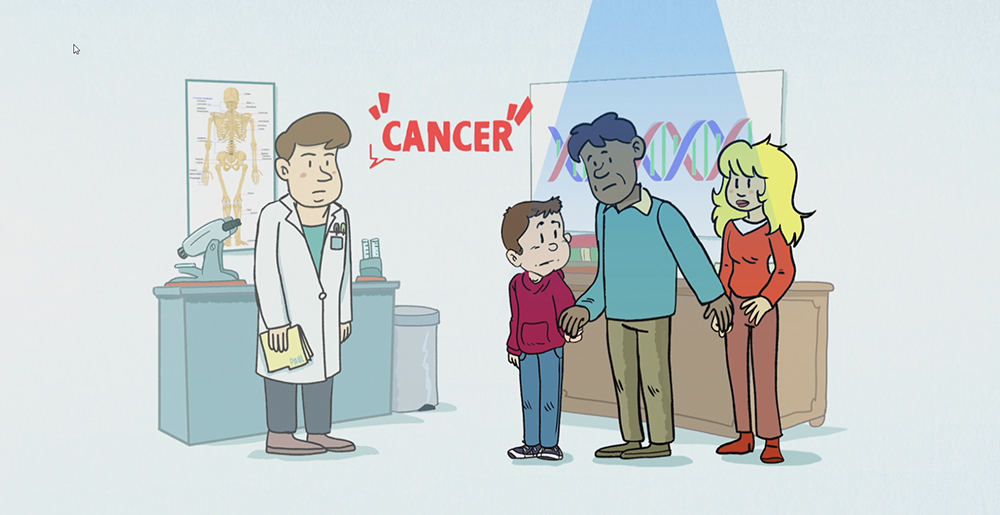 18-09-17ArticleEnfantsCancer_Image01 Une vidéo explicative pour les enfants atteints d'un cancer